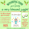 blessed juggle christmas set
